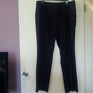 Apt 9 Maxwell stretch dress pants navy 16 wide leg
